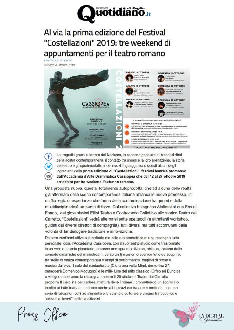 Rassegna stampa Cassiopea - Fly Digital_Pagina_12