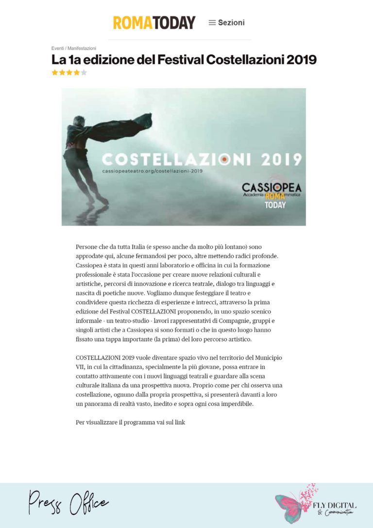 Rassegna stampa Cassiopea - Fly Digital_Pagina_24
