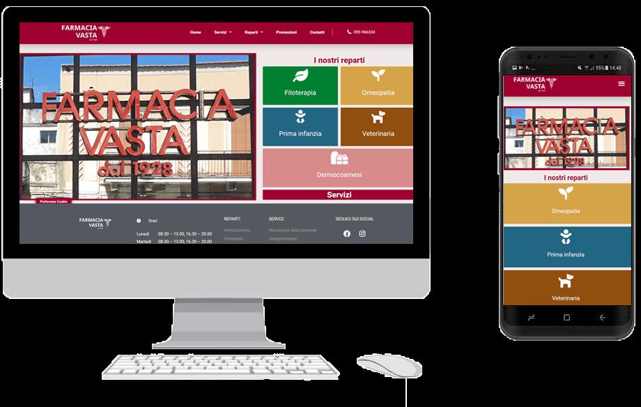 Farmacia Vasta sito web fly digital